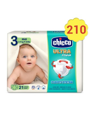 Pañales Fit&Fun Chicco -...