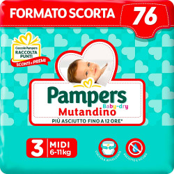 Pañales Pampers Baby Dry...
