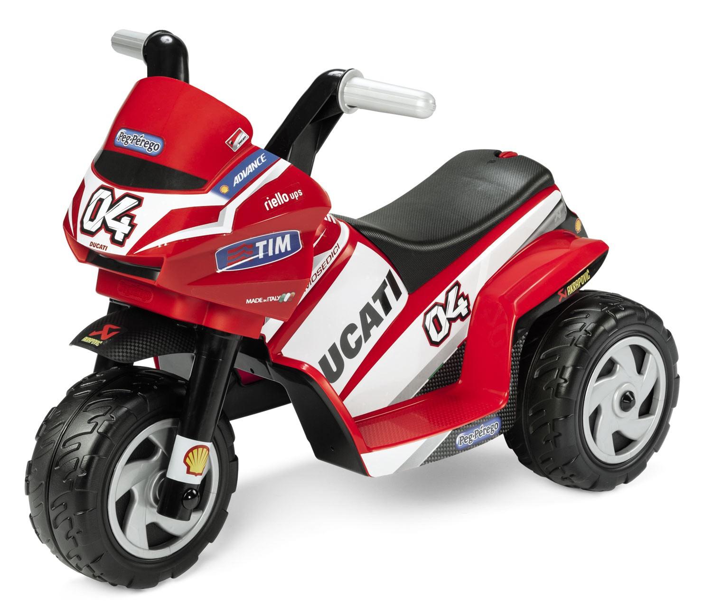 Moto Elettrica Mini Ducati Evo Peg Perego