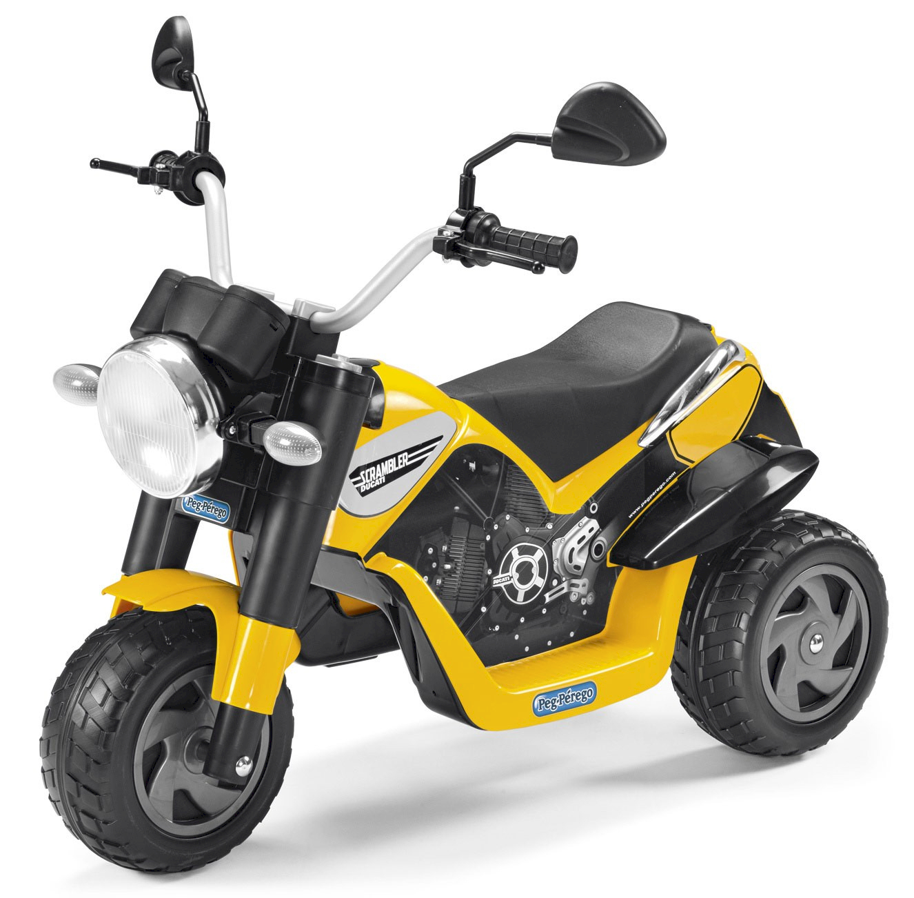 Peg Perego Mini Elektrische Motorrad Ducati Scrambler