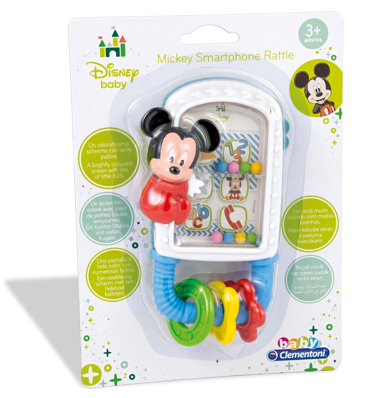 Clementoni Hochet Disney Mickey Mouse