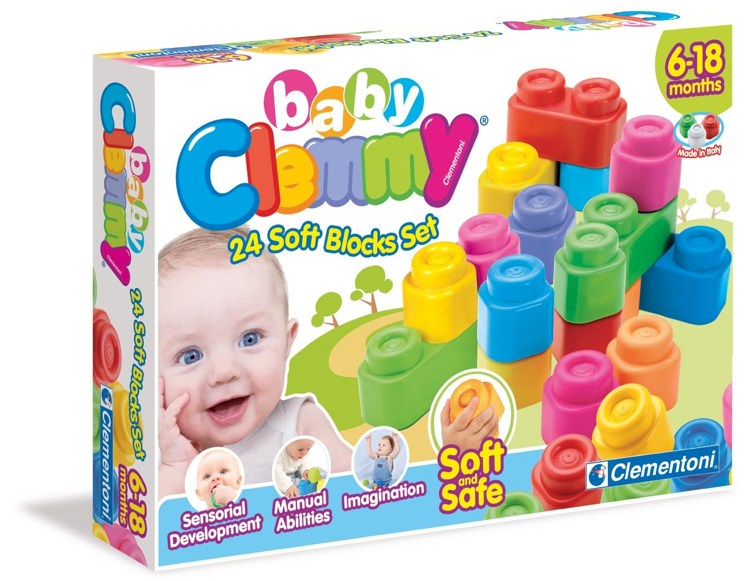 Clemmy Baby 24 bloques Clementoni