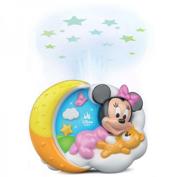 Clementoni Projecteur de Lit Minnie Magiche Stelle
