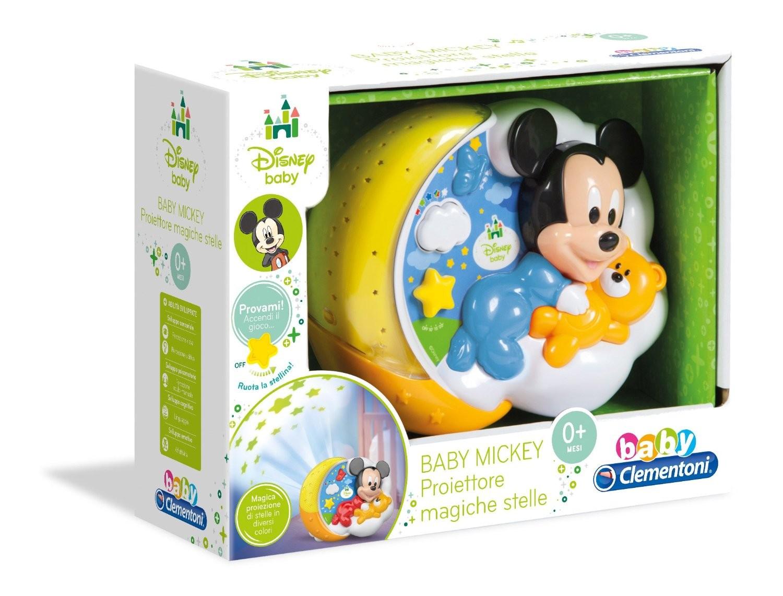 Baby Mickey Proiettore Magiche Stelle Clementoni