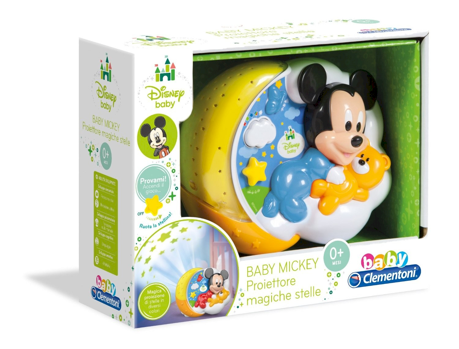 Clementoni Projektor Baby Mickey Magic Stars