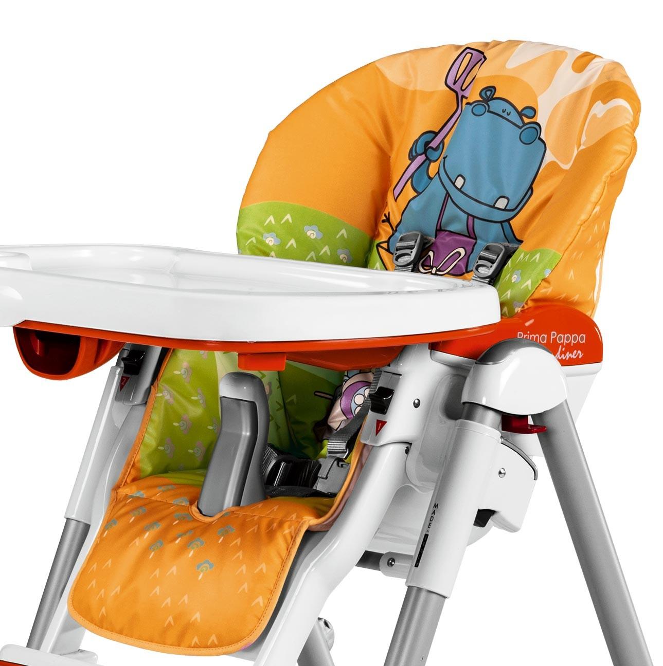 Housse pour Chaise Haute Prima Pappa Diner Orange