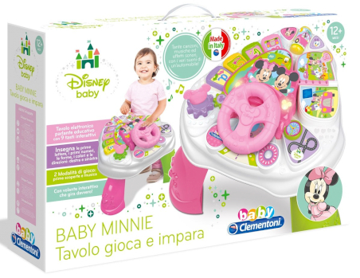 Tavolo Baby Minnie Gioca e Impara Clementoni