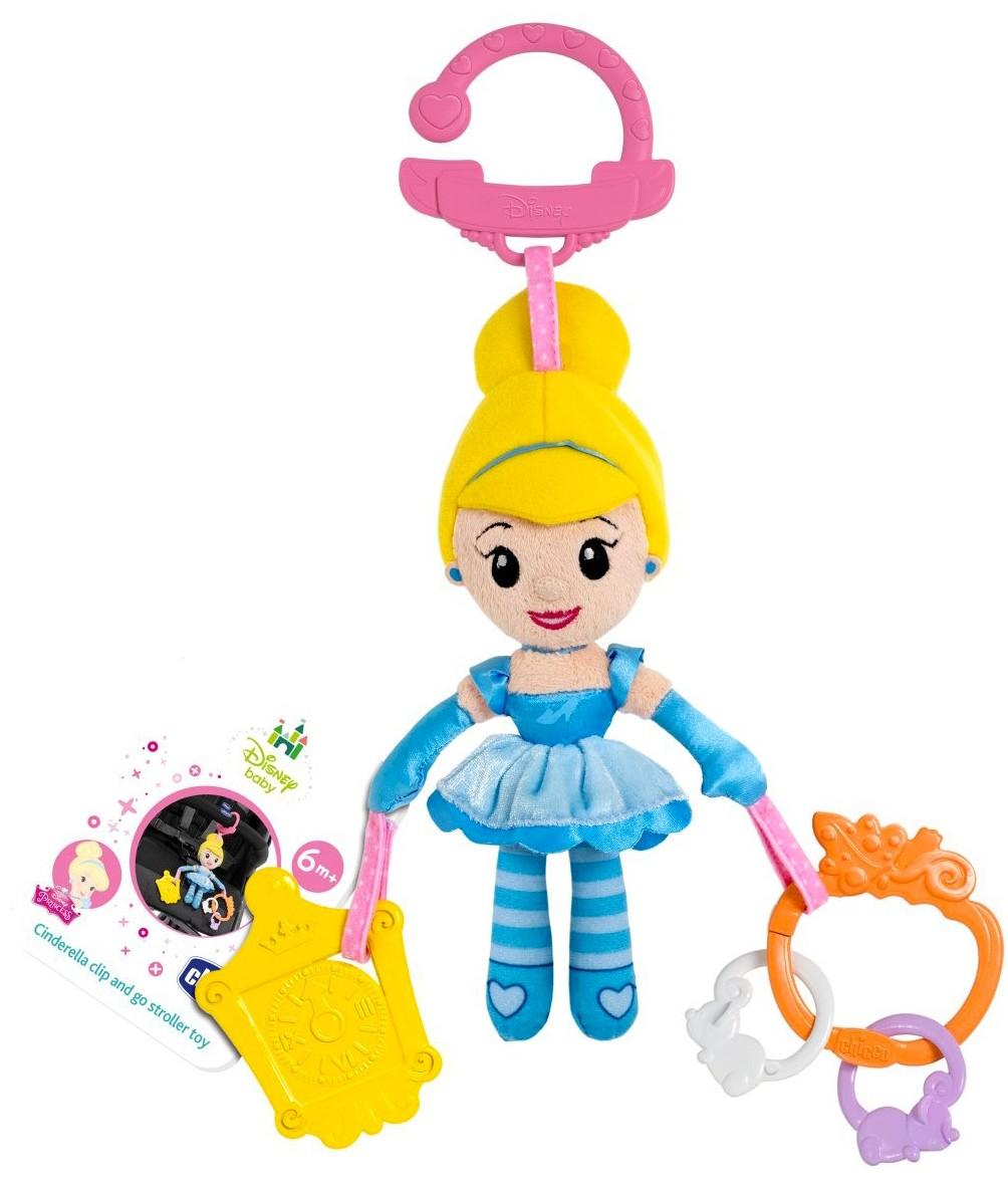 Chicco Mini Poupée Cendrillon en promenade