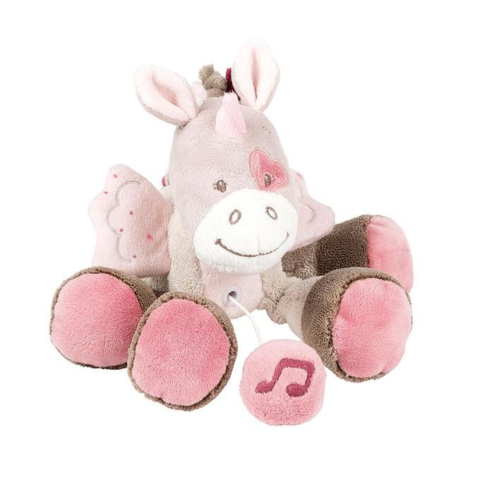 Mini Carillon Nattou Jade L'unicorno