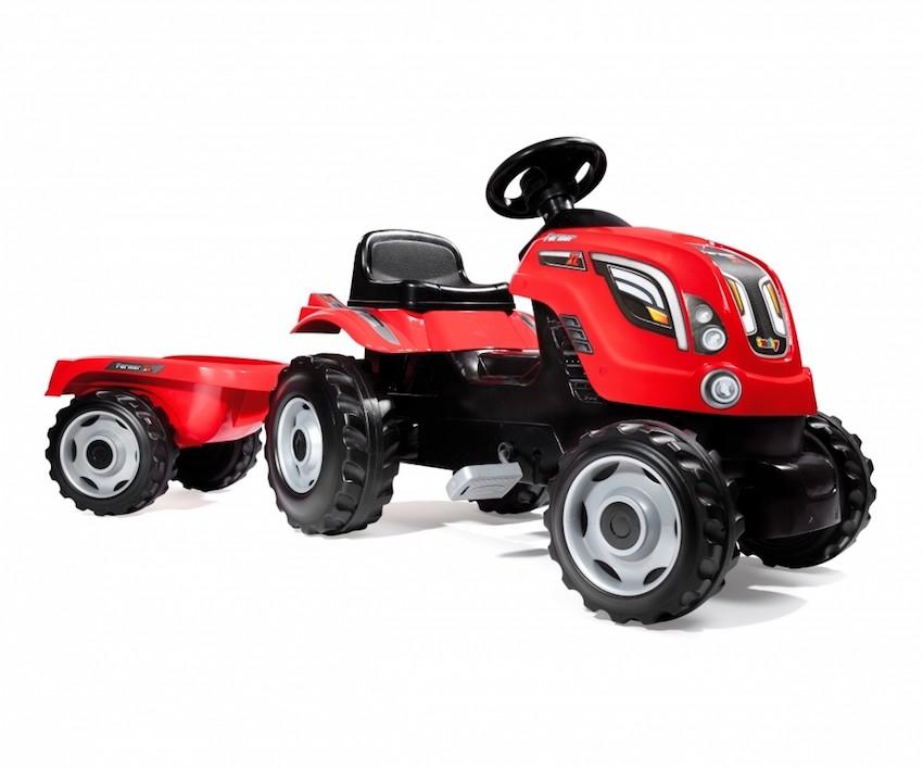 Smoby Tracteur Farmer XL + Remorque