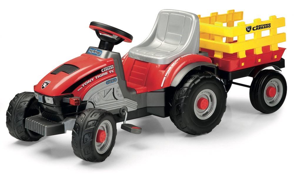 Tractor Mini Tony Tigre Peg Perego