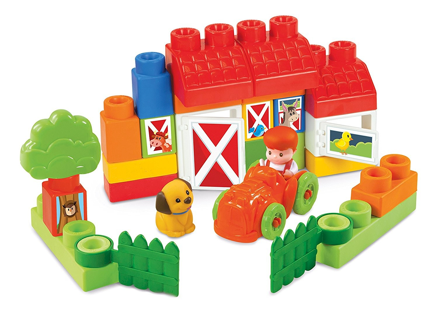 Clementoni Set de Construction Ferme Clemmy
