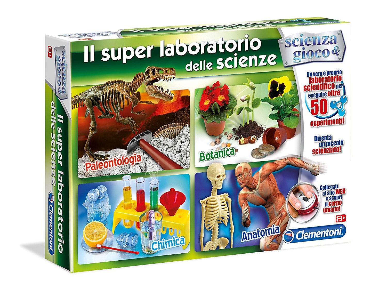 Super Laboratorio delle Scienze Clementoni