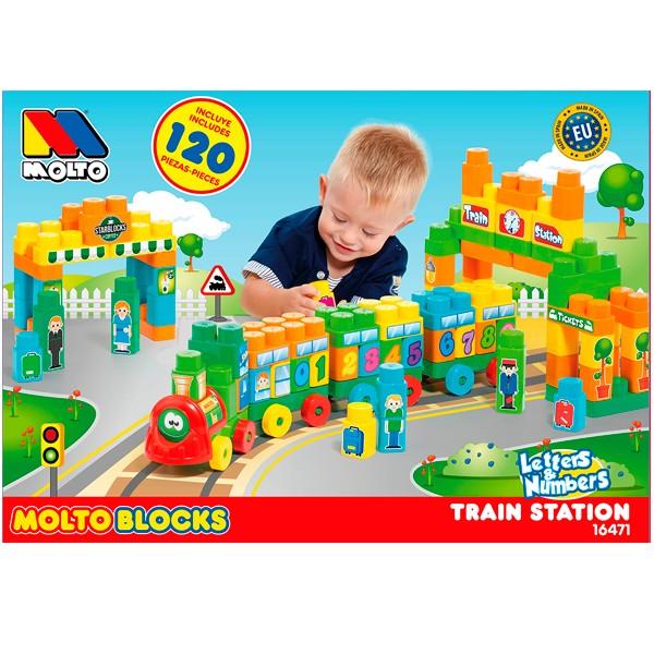 Costruzioni Stazione del Treno 120 Mattoncini