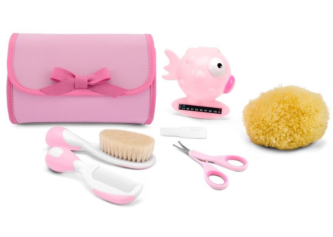 Set Igiene Happy Bubbles Rosa Chicco