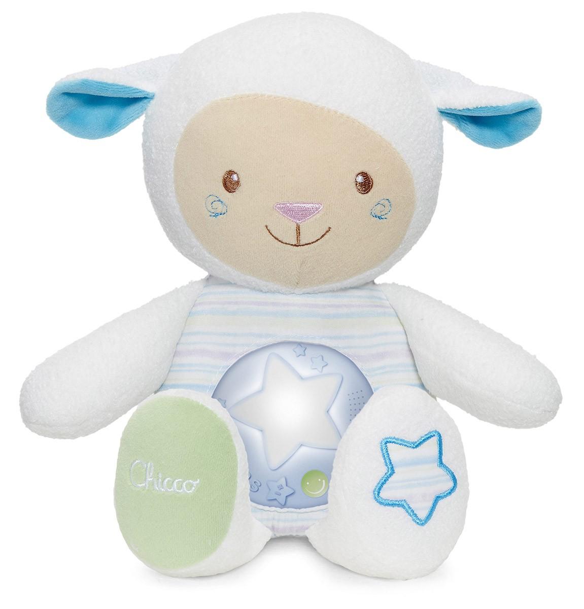 Pupazzo Mamma Lullaby Azzurro Chicco