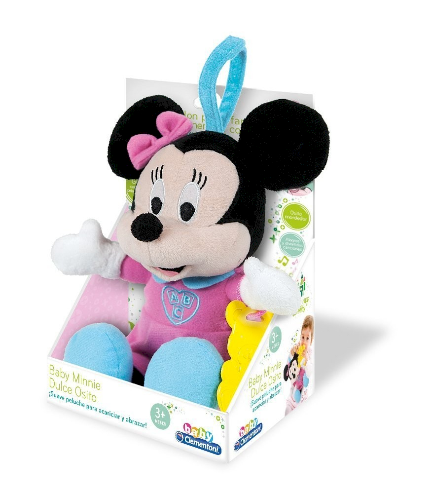 Baby Minnie Peluche Mordicchioso Clementoni