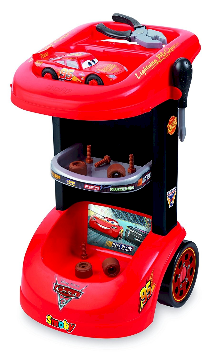 Smoby Chariot Cars 3 + MC Queen