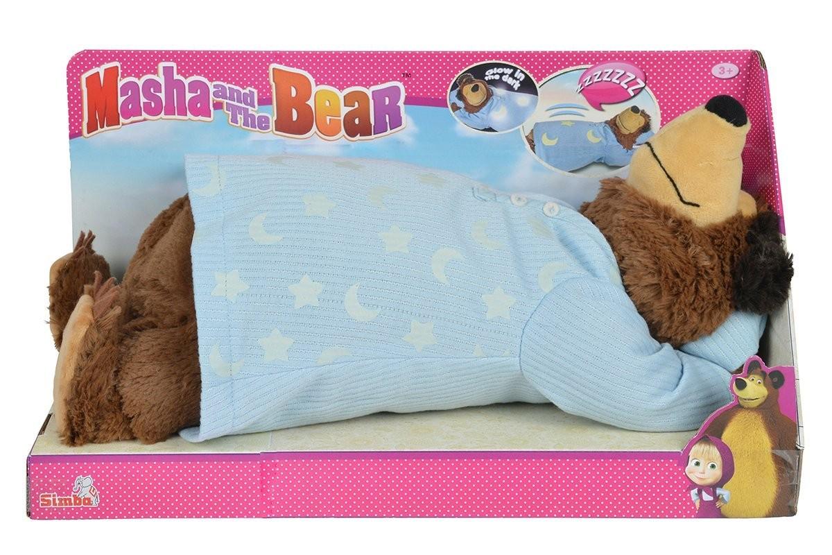 Masha Orso Peluche Che Dorme