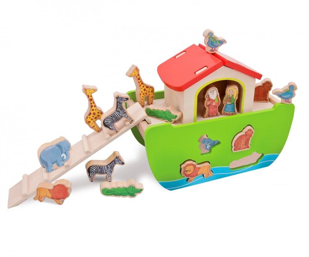 Steckspiel Arche Noah aus Holz