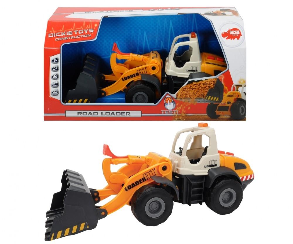 Excavadora juguete Dickie toys