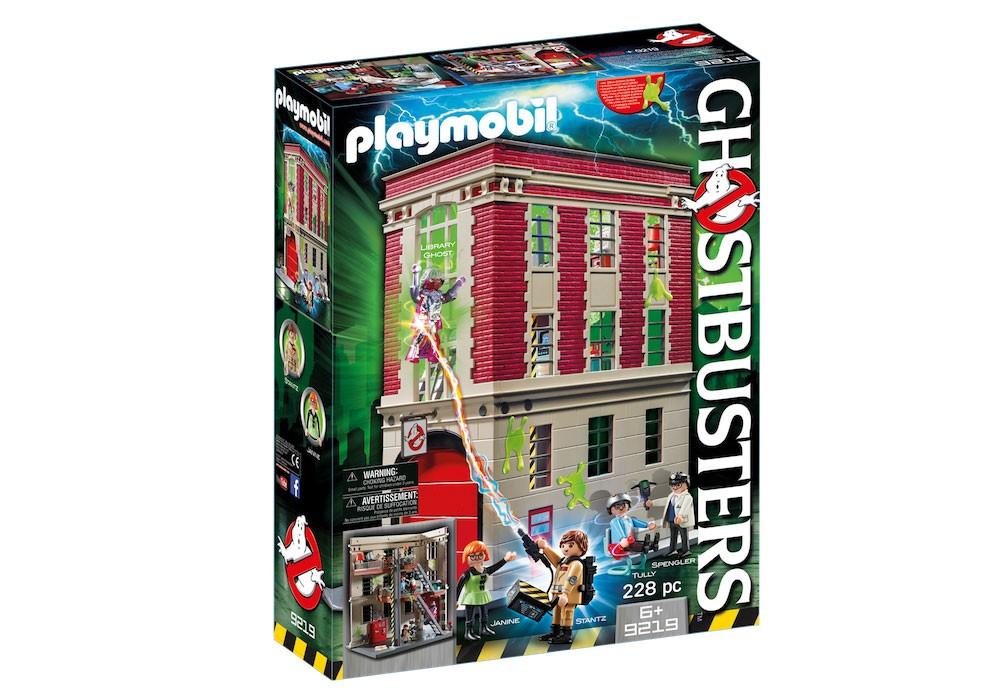 Playmobil Quartier Général Ghostbusters