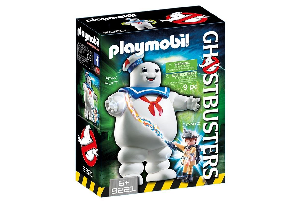 Playmobil Fantôme Stay Puft et Stantz