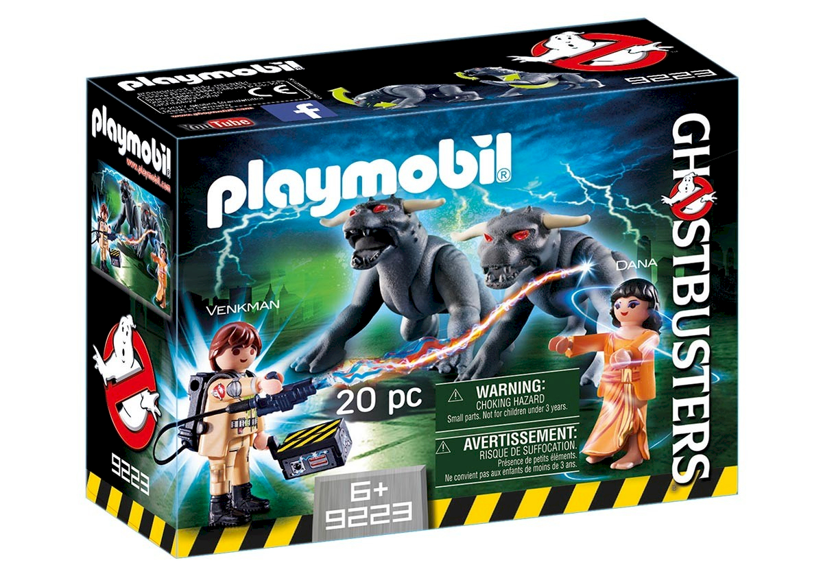 Playmobil Venkman et les Chiens de la Terreur