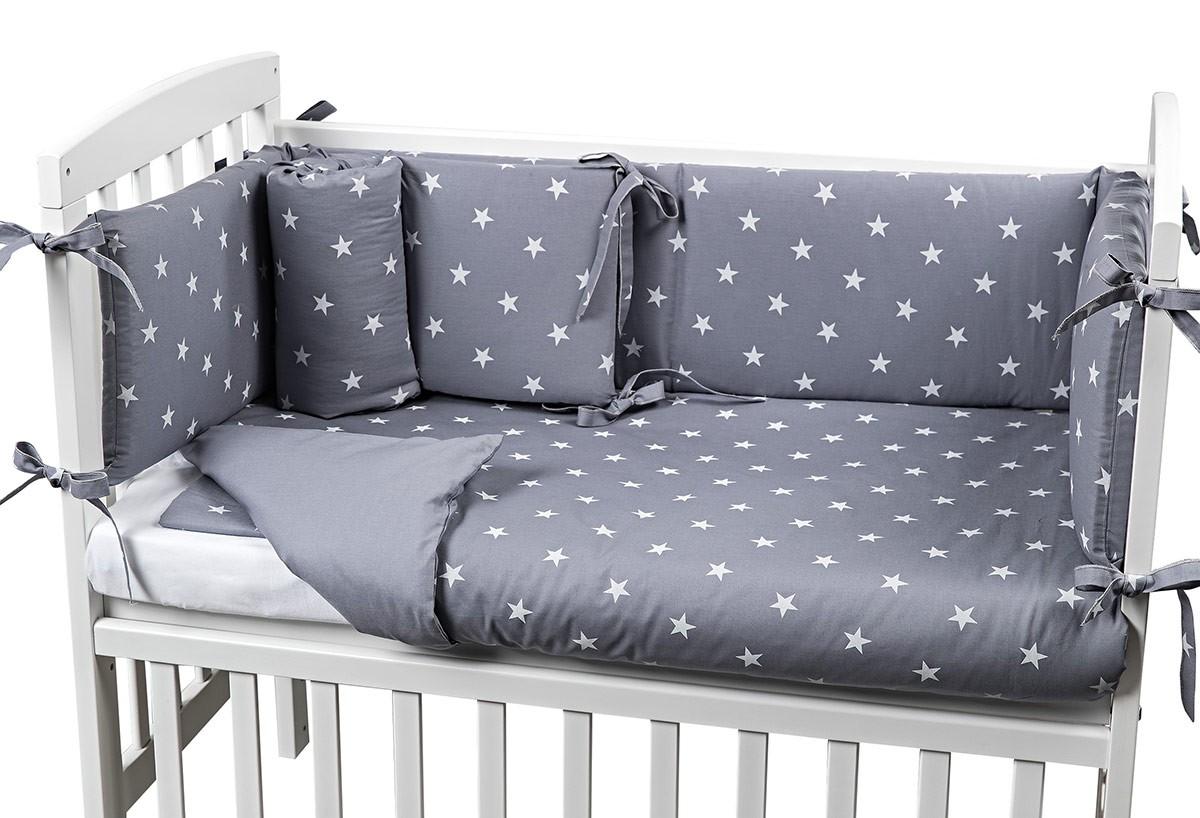 Picci Babybett Lella Sternes Grau