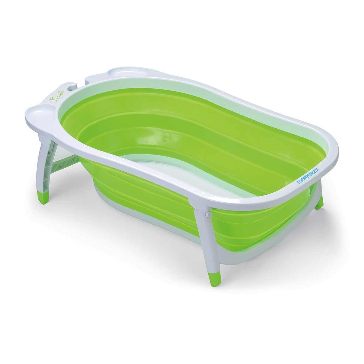Foppapedretti biegsame Baby Badewanne Soffietto Green