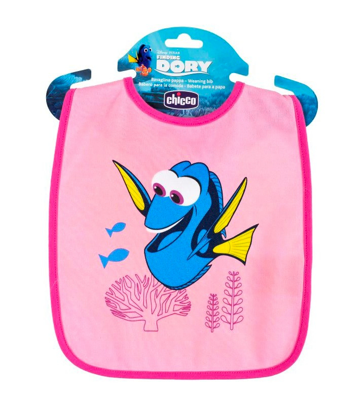 Bavoirs Chicco Finding Dory Rose