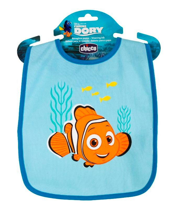 Bavoirs Chicco Finding Dory Bleu