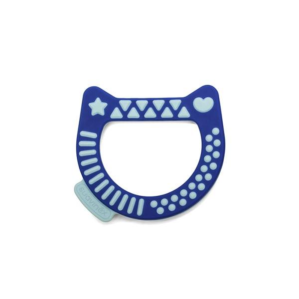 Anello Dentizione Gattino Blu