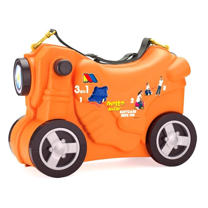 Valigia Moto Arancione