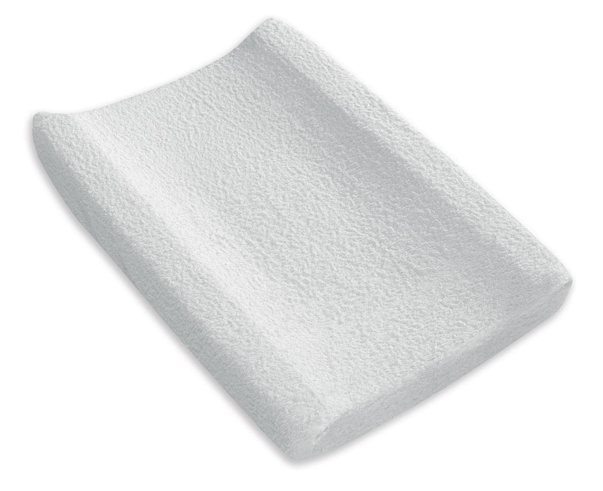 Housse de matelas à langer en Éponge Blanc