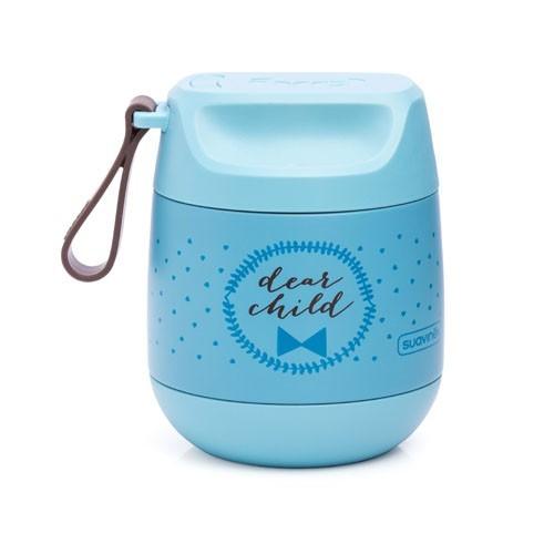 Suavinex Thermobehälter aus Stahl Blue