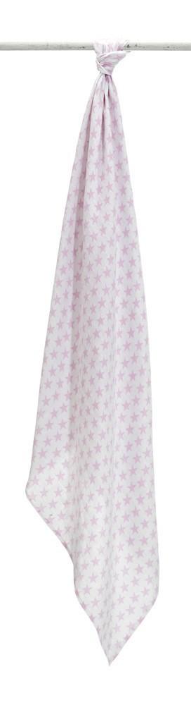 Mussola Bianco Rosa
