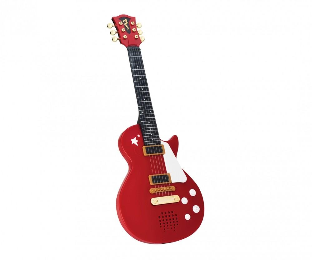 Chitarra Rock Marrone