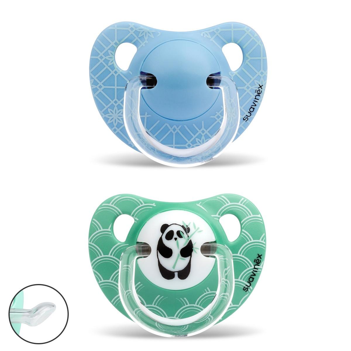 Ciuccio Panda Verde Sil
