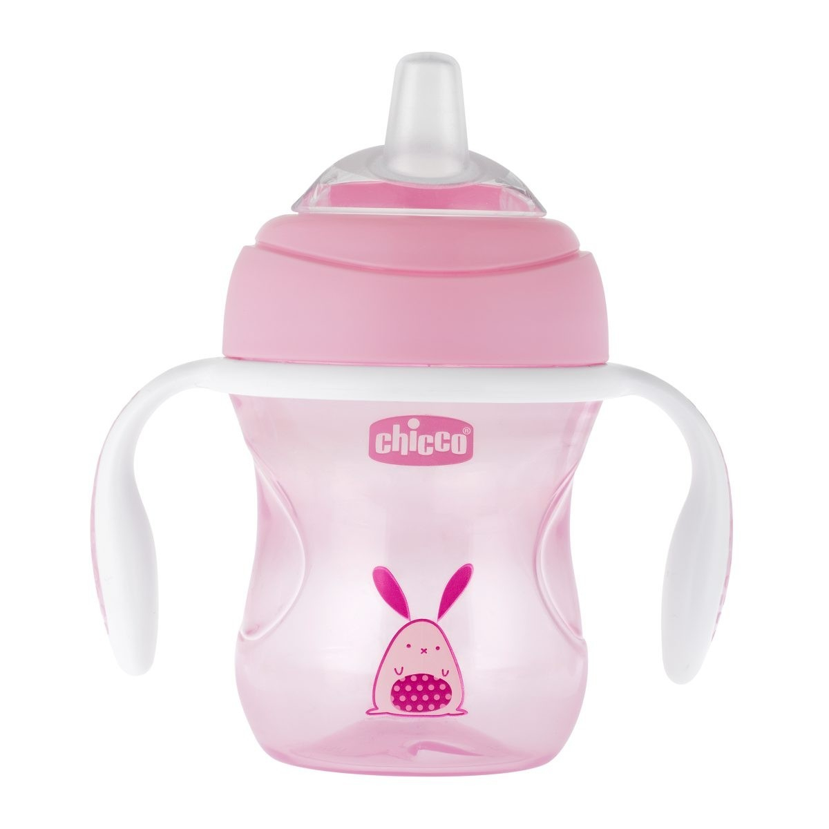 Chicco Transition Schnabeltasse 4M+ Rosa