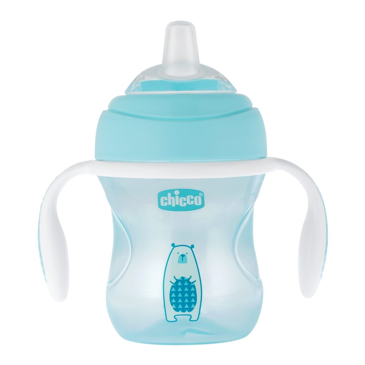 Chicco Transition Schnabeltasse 4M+ Blau