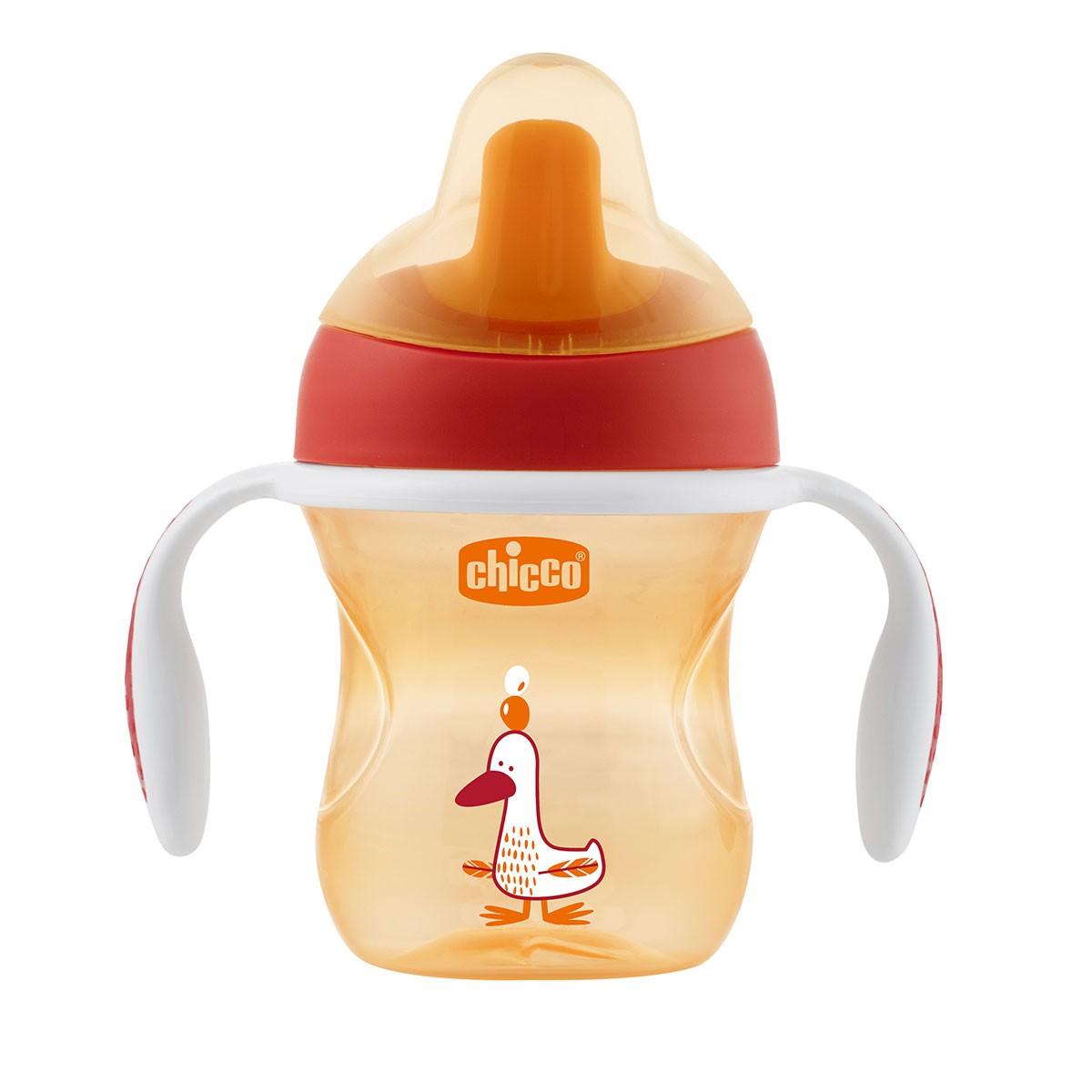 Chicco Training Trinklernbecher 6M+ Orange
