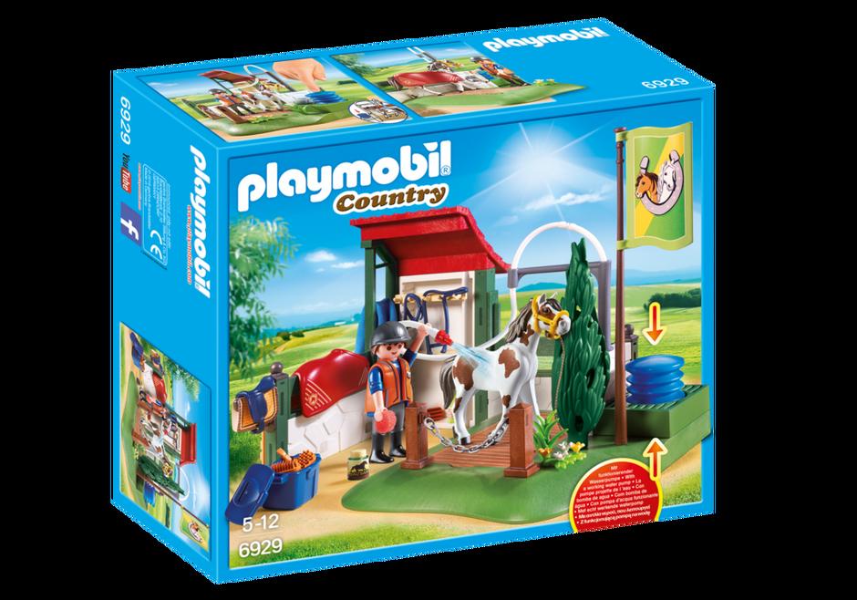 Playmobil Box de lavage pour chevaux
