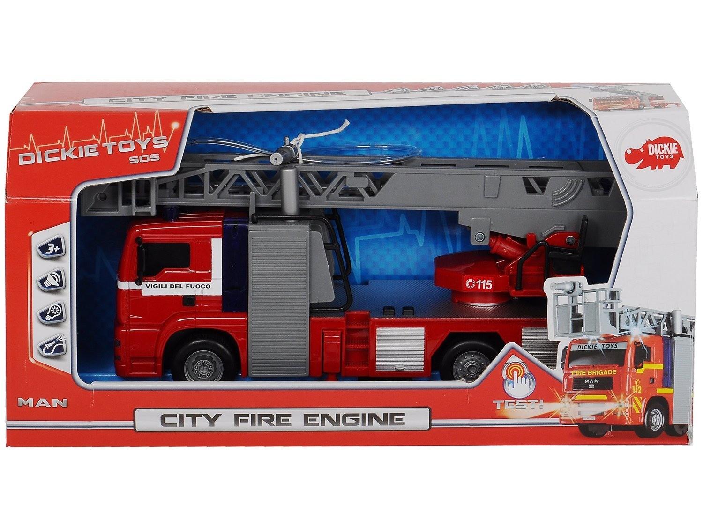 Dickie Toys Camion des Pompiers SOS