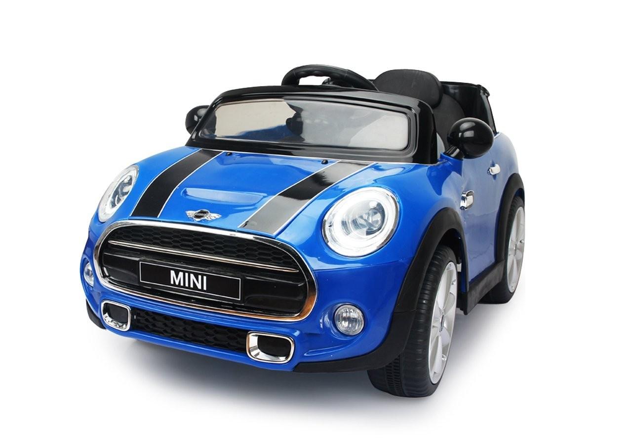 Mini Cooper Elettrica Jamara blu