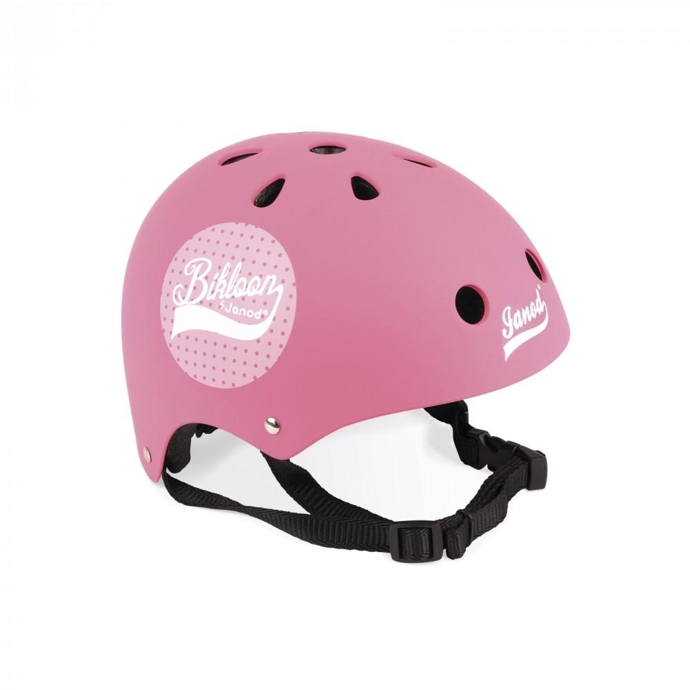 Casco Protettivo Rosa per Bici Janod