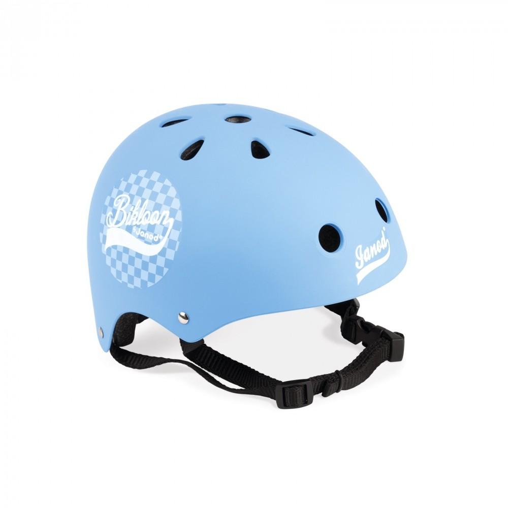 Casco Protettivo Azzurro per Bici Janod