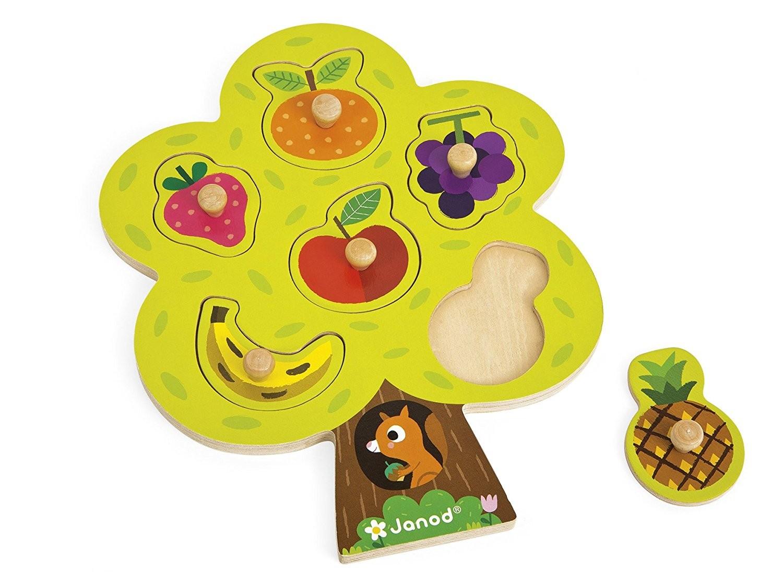 Puzzle Albero e Frutta Janod