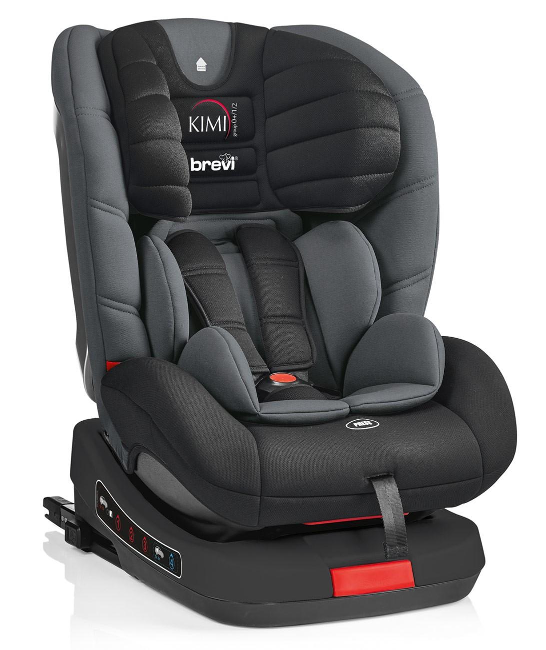 Brevi Kindersitz Kimi Isofix Schwarz