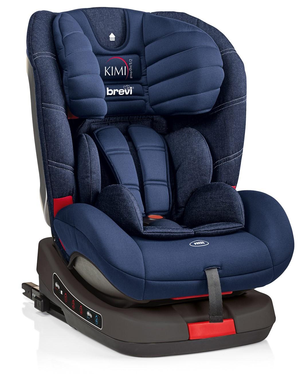 Siège-Auto Kimi Isofix Brevi Jeans